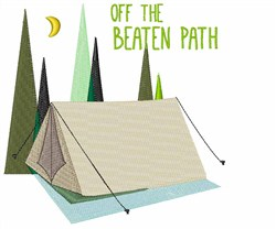 Off the Beaten Path embroidery design