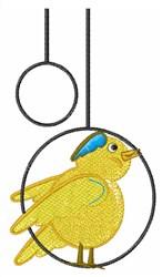 Canary Bird embroidery design
