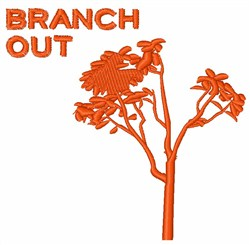 Branch Out embroidery design