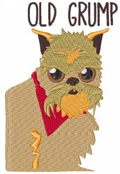 Old Grump embroidery design