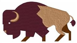 Buffalo Bison embroidery design