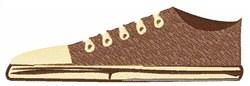 Single Shoe embroidery design