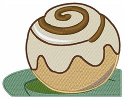 Cinnamon Roll embroidery design
