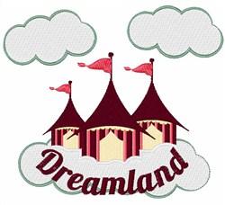 Dreamland Circus embroidery design