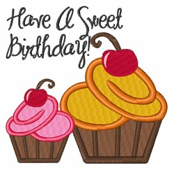 Sweet Birthday embroidery design