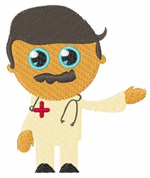 Doctor embroidery design