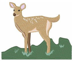 Doe embroidery design