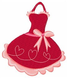 Heart Apron embroidery design