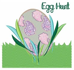Egg Hunt embroidery design