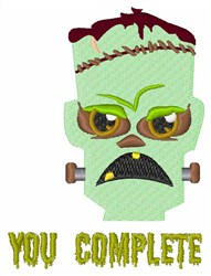 Complete Monster embroidery design