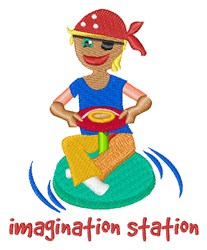 Imagination Station embroidery design