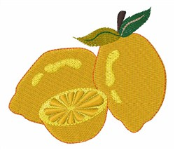 Sour Citrus embroidery design