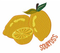 Sourpuss embroidery design