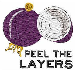Onion Layers embroidery design