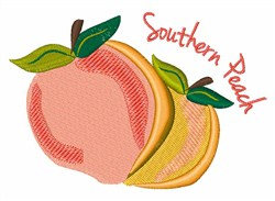 Southern Peach embroidery design
