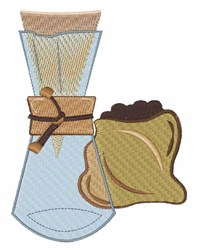 Coffee Grinder embroidery design