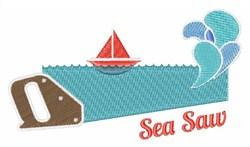 Sea Saw embroidery design