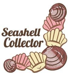 Seashell Collector embroidery design