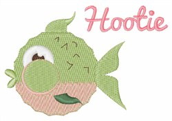 Hootie embroidery design