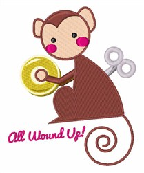 All Wound Up embroidery design