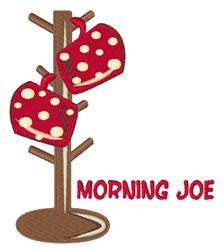 Morning Joe embroidery design
