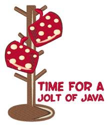 Java Jolt embroidery design