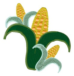 Fresh Corn embroidery design