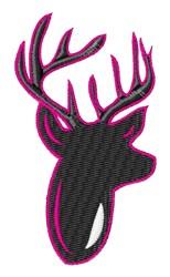 Fuchia Buck embroidery design