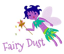 Fairy Dust embroidery design