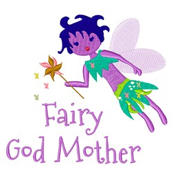 Fairy God Mother embroidery design
