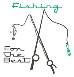 Fishing For Best embroidery design