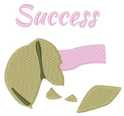 Success embroidery design