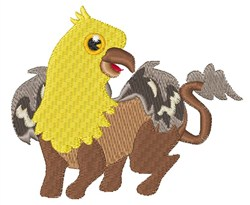 Creatures embroidery design