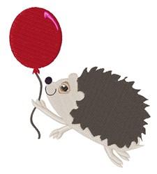 Balloon & Porcupine embroidery design
