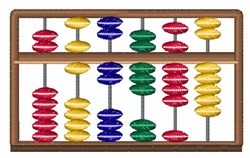 Abacus embroidery design