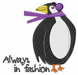Always In Fashion embroidery design