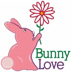 Bunny Love embroidery design