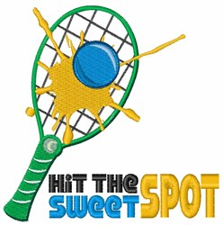 Hit The Sweet Spot embroidery design