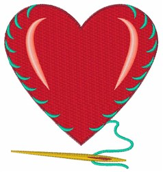 Sewing Heart embroidery design
