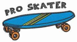 Pro Skater embroidery design
