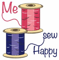 Me Sew Happy embroidery design