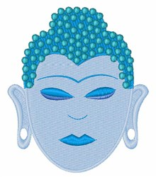Buddha embroidery design