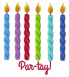 Par-tay! embroidery design