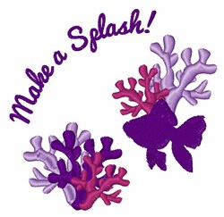 Make A Splash embroidery design