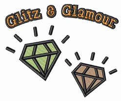 Glitz And Glamour embroidery design