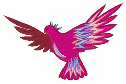 Colors in Flight embroidery design