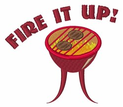 Fire it Up embroidery design