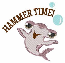 Hammer Time! embroidery design