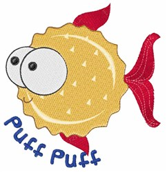 Puff Puff embroidery design