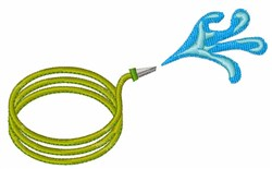 Water Hose embroidery design